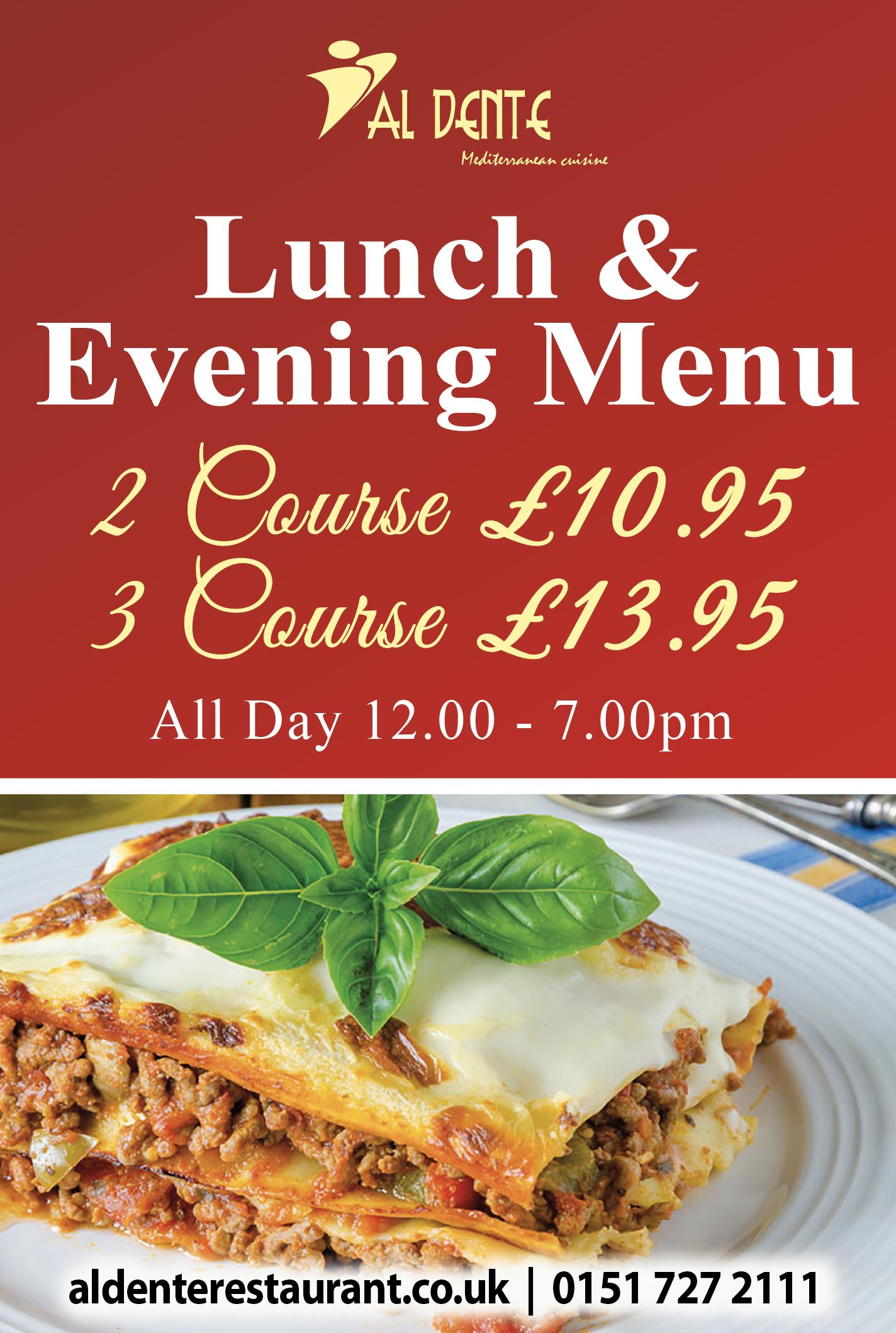 lunch-evening-menu