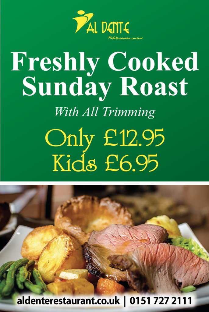 sunday roast offer