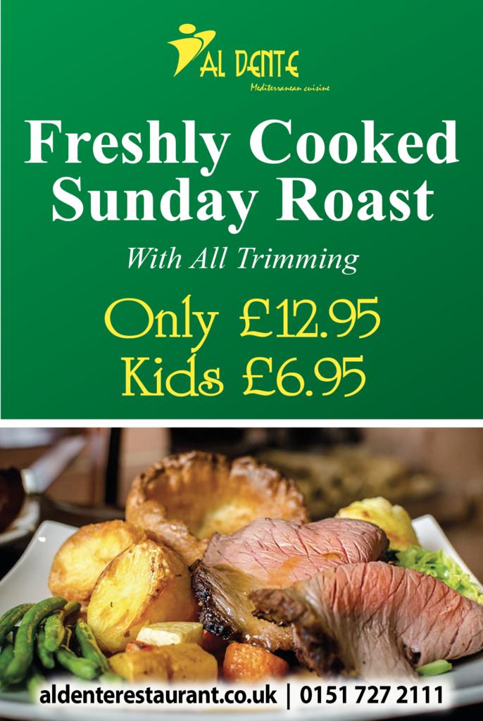 sunday roast offer